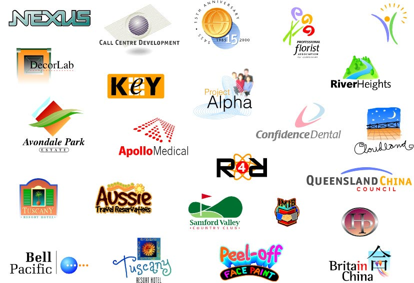 Best logos for corporate identity for Logo site web